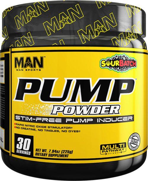 MAN Sports Pump Powder - 30 Servings Sour Batch
