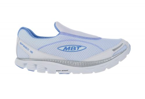 MBT Speed Slip On Shoes - Women's - white/silver/light purple, 13.0