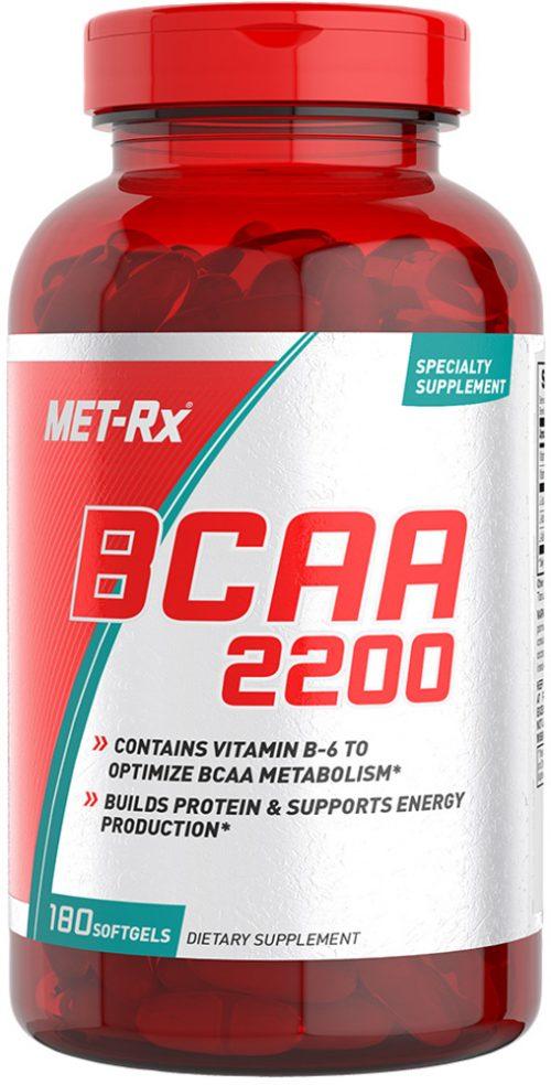 MET-RX BCAA 2200 - 180 Softgels