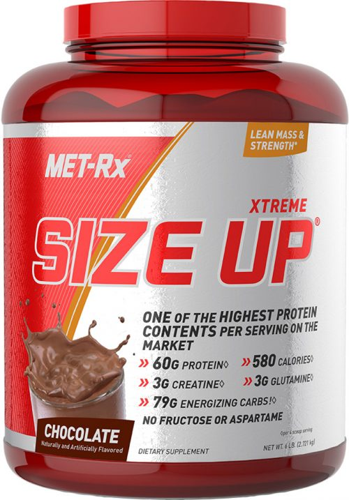 MET-RX Xtreme Size Up - 6lbs Chocolate