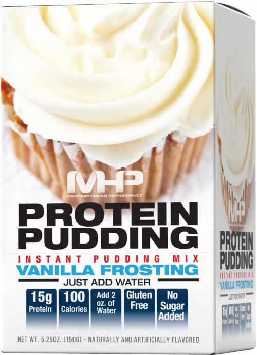 MHP Protein Pudding - 6 Pack Vanilla Frosting