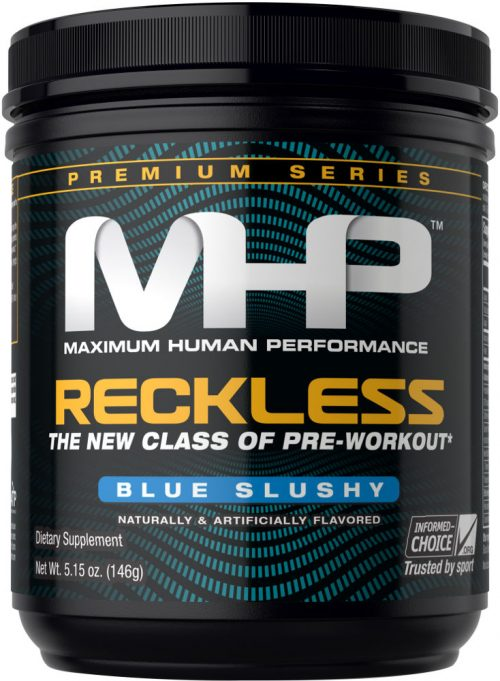 MHP Reckless - 30 Servings Blue Slushy