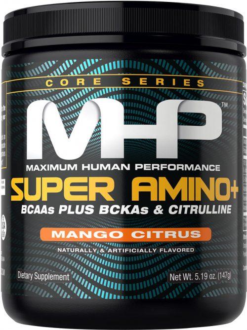 MHP Super Amino Plus Powder - 30 Servings Mango Citrus