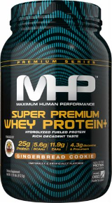 MHP Super Premium Whey Protein+ - 2lb Gingerbread Cookie