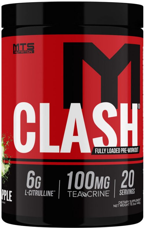 MTS Nutrition Clash - 20 Servings Green Apple