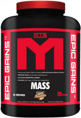 MTS Nutrition Epic Gains - 5lbs Cookies & Cream