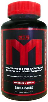 MTS Nutrition Machine Greens + Multi - 180 Capsules
