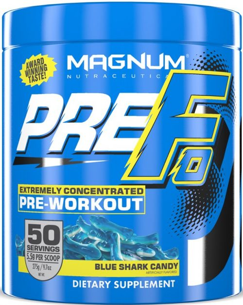 Magnum Nutraceuticals PRE-FO - 50 Servings Blue Shark Candy