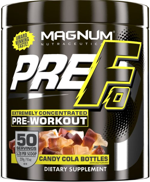 Magnum Nutraceuticals PRE-FO - 50 Servings Candy Cola Bottles