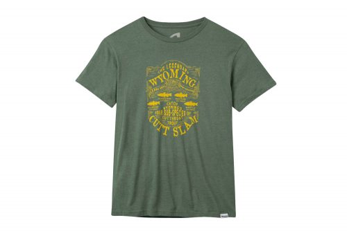 Mountain Khakis Cutt Slam T-Shirt - Men's - green heather, small