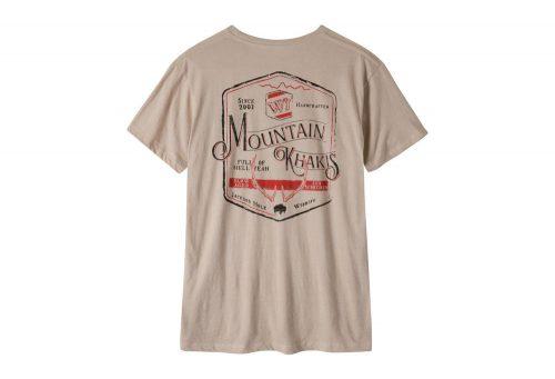 Mountain Khakis Genuine MK T-Shirt - Men's - freestone heather, large
