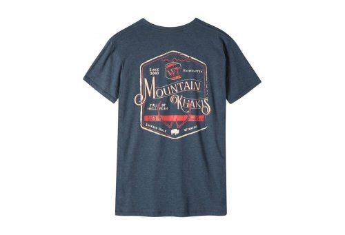 Mountain Khakis Genuine MK T-Shirt - Men's - twilight heather, small