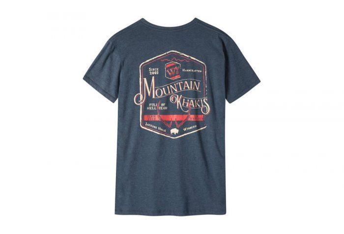 Mountain Khakis Genuine MK T-Shirt - Men's - twilight heather, x-large
