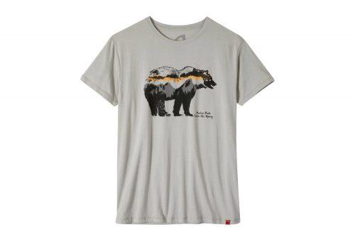 Mountain Khakis Moon Eyed Bear T-Shirt - Men's - heather grey, small