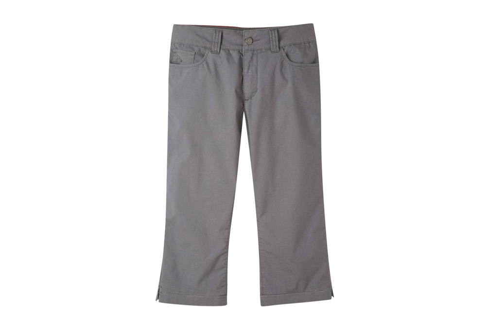 Mountain Khakis Poplin Capri Slim Fit - Women's - gunmetal, 8