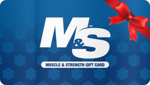 Muscle & Strength Accessories Gift Card - $100 Gift Card
