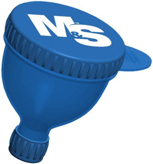 Muscle & Strength Medium Fill-N-Go Funnel - 1 100mL Blue Funnel