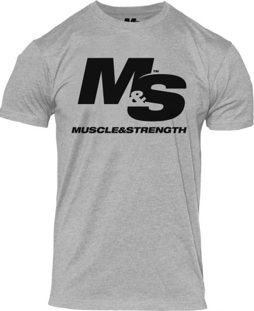 Muscle & Strength Spinal T-Shirt - Heather Medium