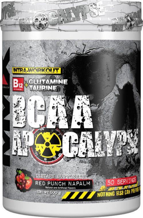 MuscleMaxx BCAA Apocalypse - 50 Servings Blue Wraithberry