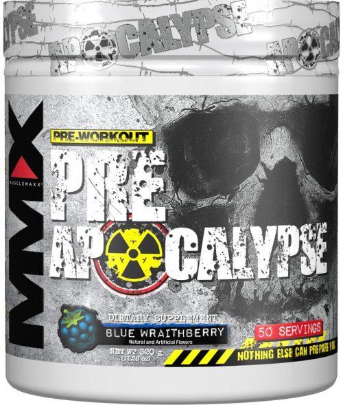 MuscleMaxx PRE Apocalypse - 50 Servings Blue Wraithberry