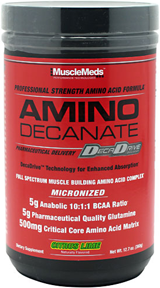 MuscleMeds Amino Decanate - 30 Servings Watermelon