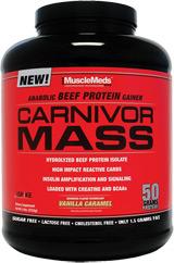 MuscleMeds Carnivor Mass - 6lbs Chocolate Fudge