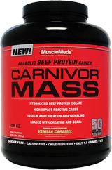 MuscleMeds Carnivor Mass - 6lbs Chocolate Peanut Butter