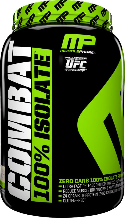MusclePharm Combat 100% Isolate - 2lbs Vanilla Ice Cream
