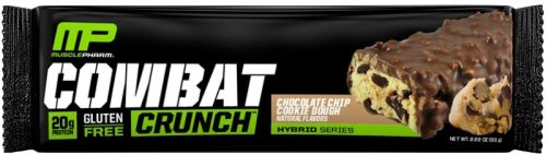 MusclePharm Combat Crunch Bars - 1 Bar Chocolate Chip Cookie Dough
