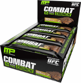 MusclePharm Combat Crunch Bars - Box of 12 Chocolate Peanut Butter Cup