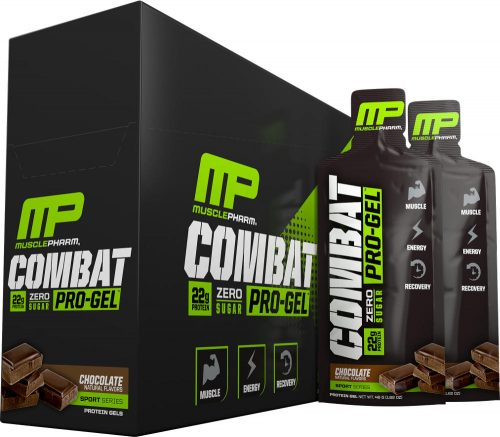 MusclePharm Combat Pro-Gel - 12 Pack Chocolate