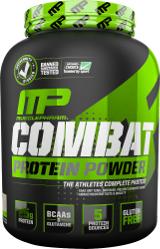 MusclePharm Combat Protein Powder - 4lbs Banana Cream