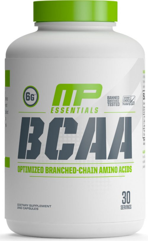 MusclePharm Essentials BCAA - 240 Capsules