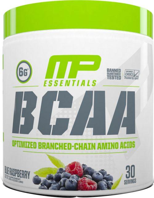 MusclePharm Essentials BCAA - 30 Servings Blue Raspberry