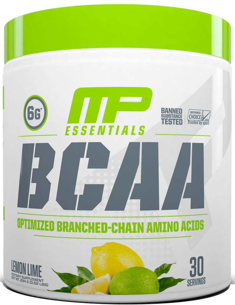 MusclePharm Essentials BCAA - 30 Servings Lemon Lime