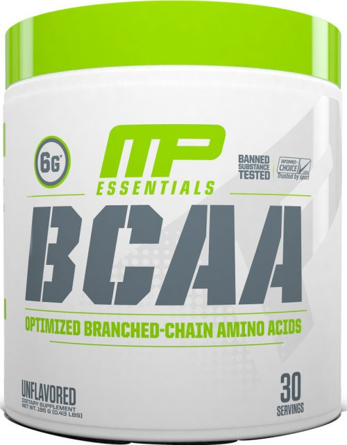 MusclePharm Essentials BCAA - 30 Servings Unflavored