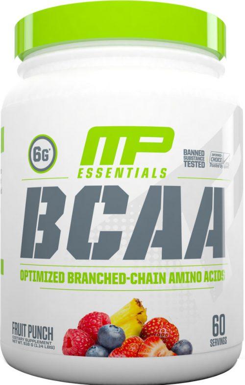 MusclePharm Essentials BCAA - 60 Servings Fruit Punch