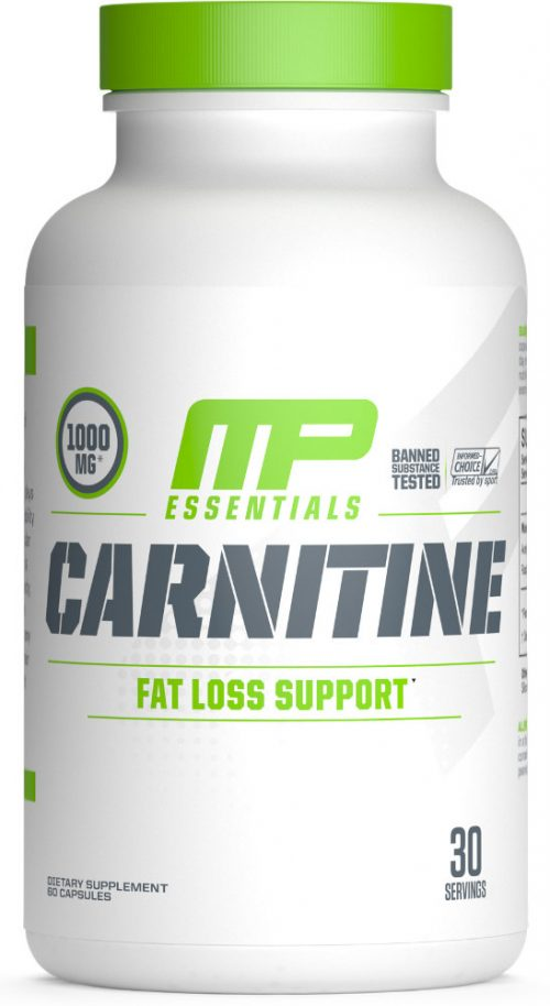 MusclePharm Essentials Carnitine - 60 Capsules