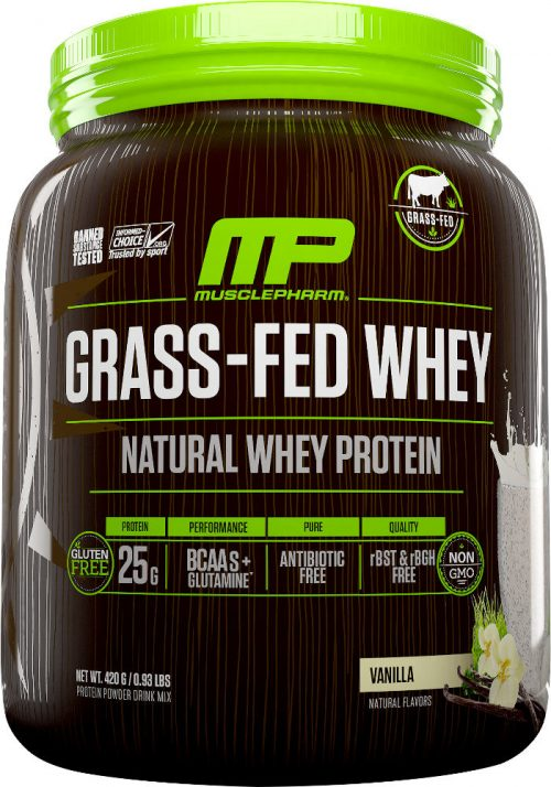 MusclePharm Natural Series Natural Series Grass-Fed Whey - 14 Servings