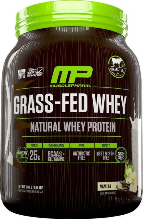 MusclePharm Natural Series Natural Series Grass-Fed Whey - 28 Servings