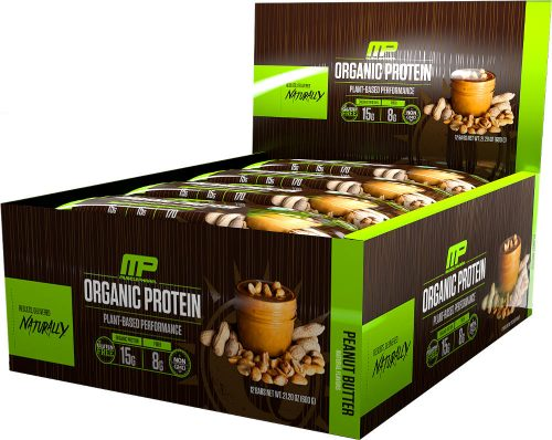 MusclePharm Natural Series Natural Series Organic Protein Bar - Box of