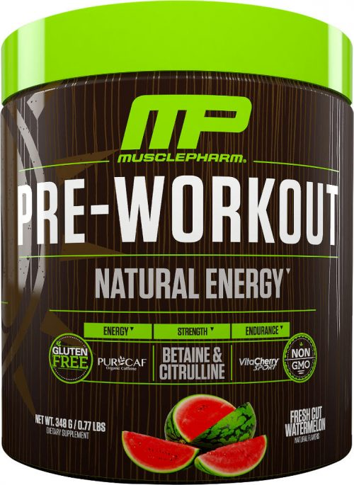 MusclePharm Natural Series Natural Series Pre-Workout - 30 Servings Wa