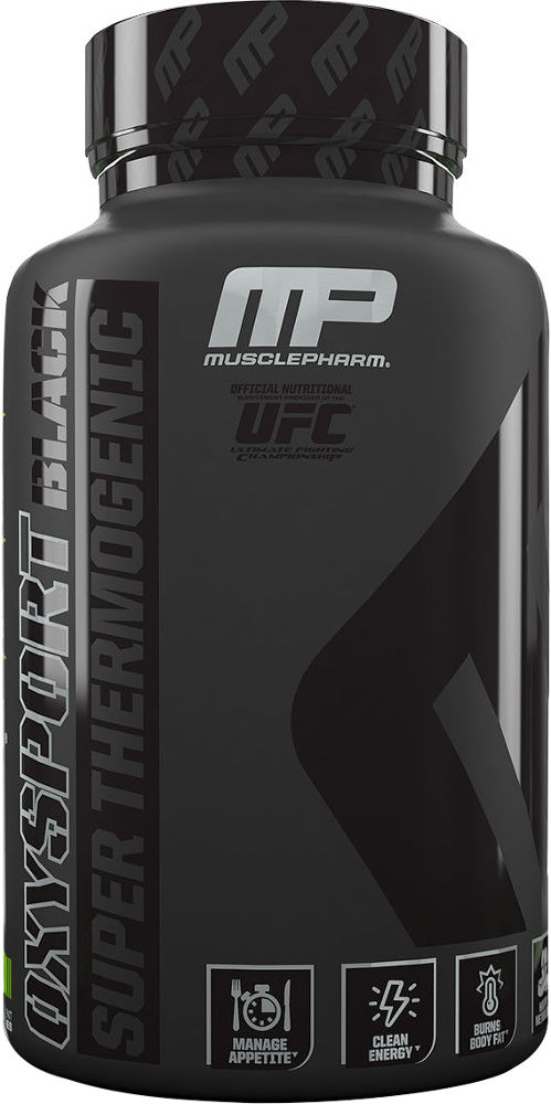 MusclePharm OxySport Black - 120 Capsules