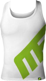 MusclePharm Sportswear MP Logo Tank - XXL White