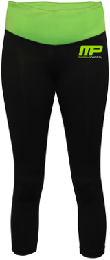 MusclePharm Sportswear Yoga Pants - Medium Black
