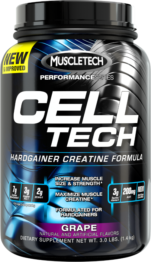 MuscleTech Cell-Tech - 3lbs Grape