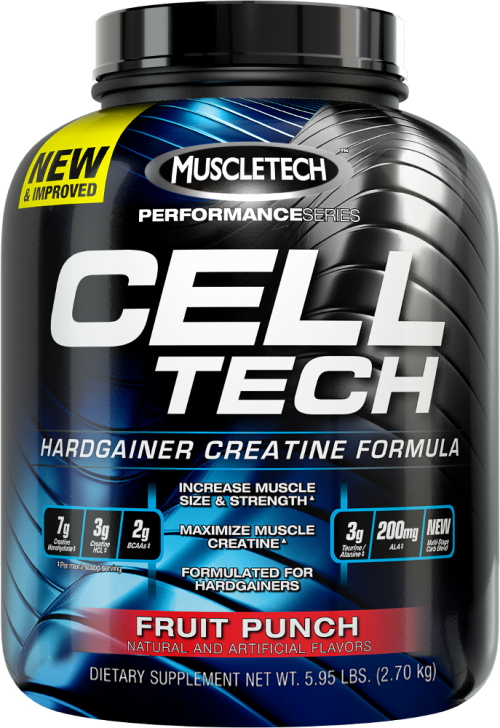 MuscleTech Cell-Tech - 6lbs Fruit Punch