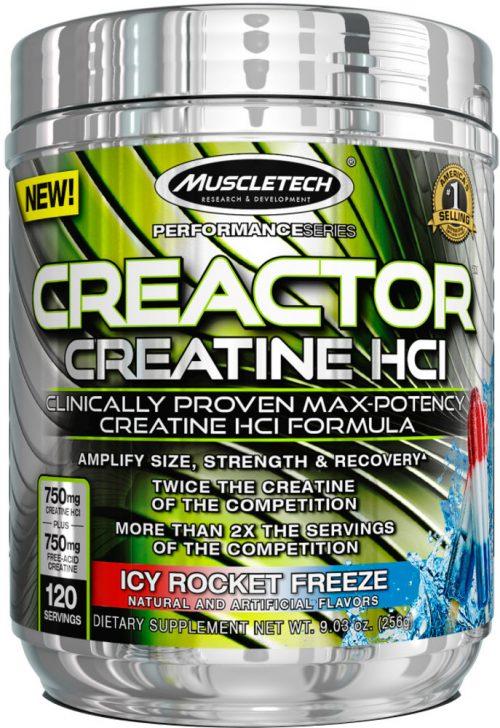 MuscleTech Creactor - 120 Servings Icy Rocket Freeze