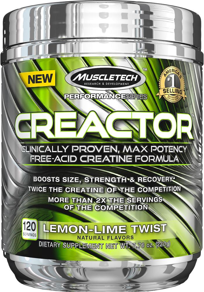 MuscleTech Creactor - 120 Servings Lemon Lime