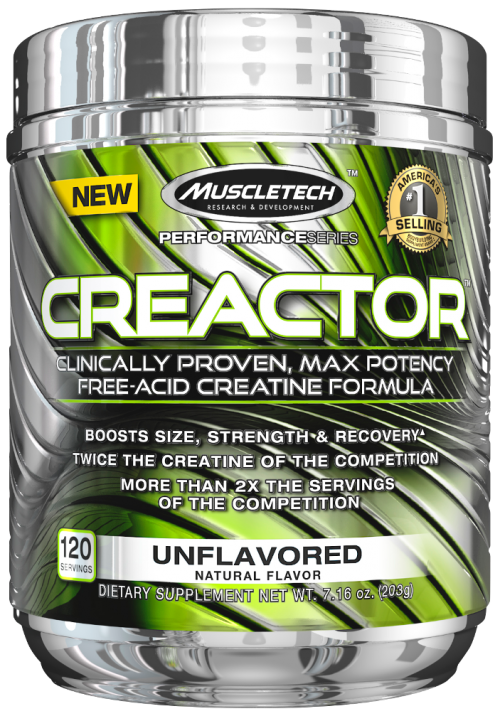 MuscleTech Creactor - 120 Servings Unflavored